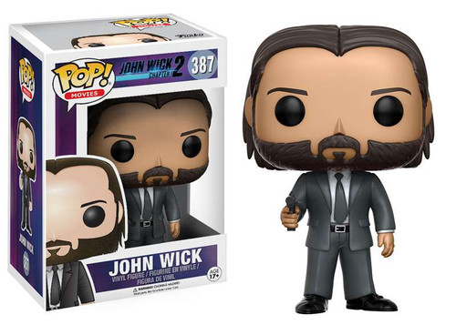 Funko John Wick Chapter 2 POP! Movies John Wick Vinyl Figure #387 [Clean, Regular Version]