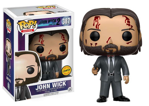 Funko John Wick Chapter 2 POP! Movies John Wick Vinyl Figure #387 [Bloody, Chase Version]