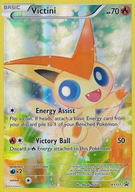 Pokemon X & Y Promo Promo Holo Full Art Victini XY117