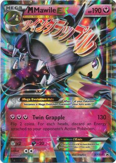 Pokemon X & Y Promo Ultra Rare M Mawile EX XY104