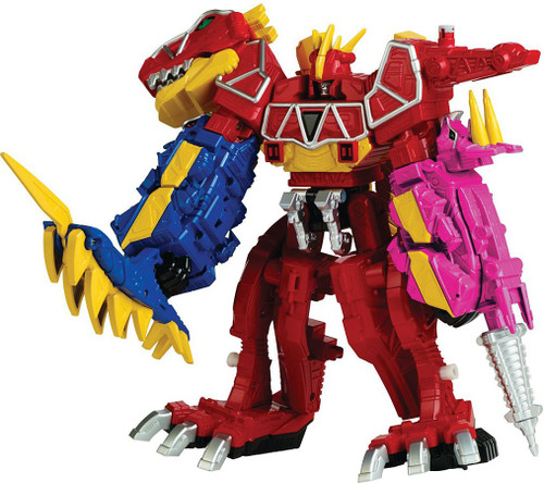 Power Rangers Dino Super Charge Zord Builder Dino Charge Megazord Action Figure