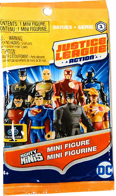 Justice League Action Mighty Minis JLA Series 1 Mystery Pack