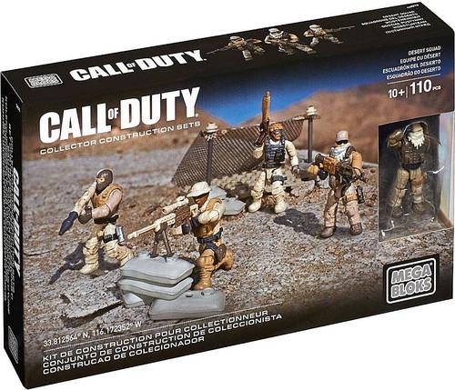 Mega Bloks Call of Duty Desert Squad Set