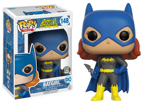 Funko DC POP! Heroes Batgirl Exclusive Vinyl Figure #148 [Heroic, Specialty Series]