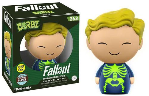 Funko Fallout Dorbz Adamantium Skeleton Exclusive Vinyl Figure #263 [Specialty Series]