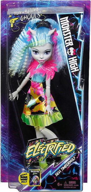 Monster High Electrified Silvi Timberwolf Doll