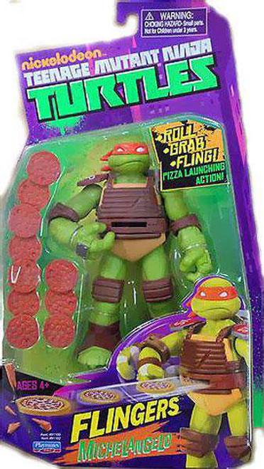 Teenage Mutant Ninja Turtles Nickelodeon Flingers Michelangelo Action Figure [Loose]