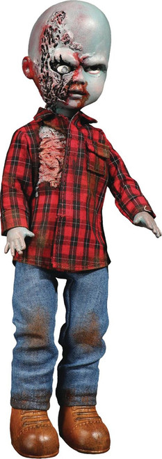 Living Dead Dolls Dawn of the Dead Plaid Shirt Zombie 10-Inch Doll