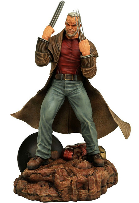 Marvel Gallery Old Man Logan 8-Inch PVC Figure Statue