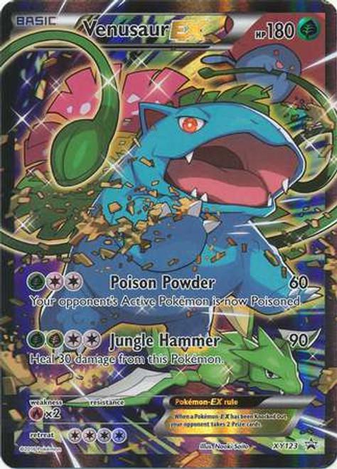 Pokemon X & Y Promo Promo Holo Venusaur-EX XY123