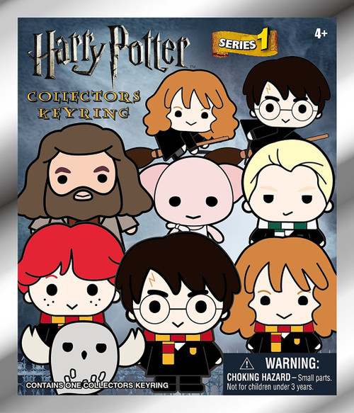 3D Figural Keyring Harry Potter Series 2 Mystery Pack [1 RANDOM Figure]