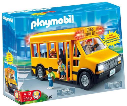 Playmobil School Bus Set #5940 [ ]