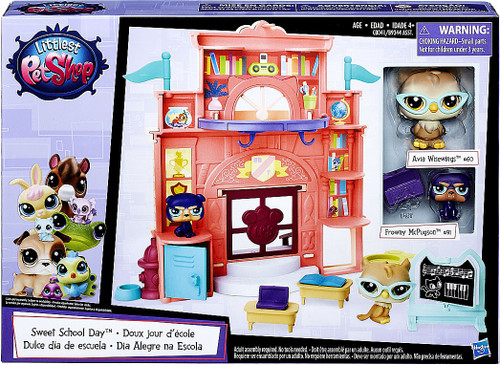 Littlest Pet Shop Sweet School Day Playset