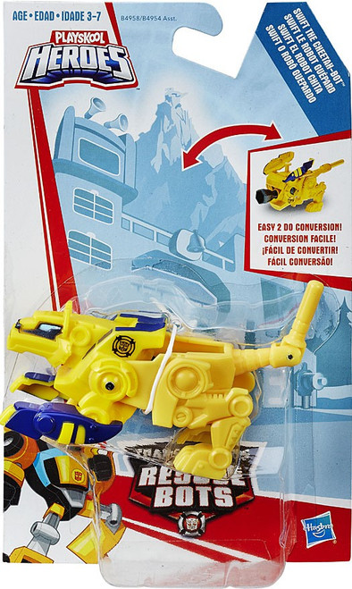 Transformers Playskool Heroes Rescue Bots Swift the Cheetah Bot Action Figure