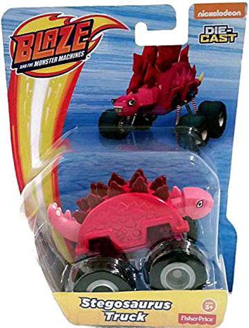 Fisher Price Blaze & the Monster Machines Stegosaurus Truck Diecast Car