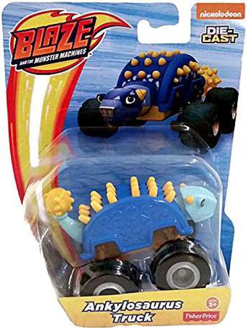 Fisher Price Blaze & the Monster Machines Ankylosaurus Truck Diecast Car