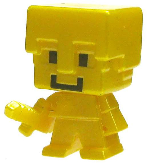Minecraft Chest Series 1 Gold Steve 1-Inch Mini Figure [Loose]