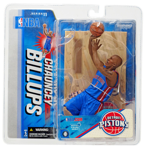 McFarlane Toys NBA Detroit Pistons Sports Picks Series 11 Chauncey Billups Action Figure [Blue Jersey]