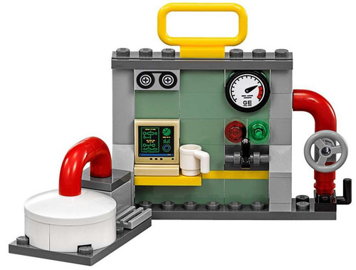 LEGO Terrain Industrial Work Station Accessory [Loose]