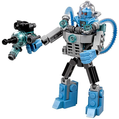 DC LEGO Batman Movie Mr. Freeze with Mech Minifigure [Loose]