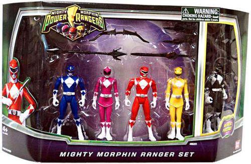 Power Rangers Mighty Morphin Ranger Set Action Figure 5-Pack