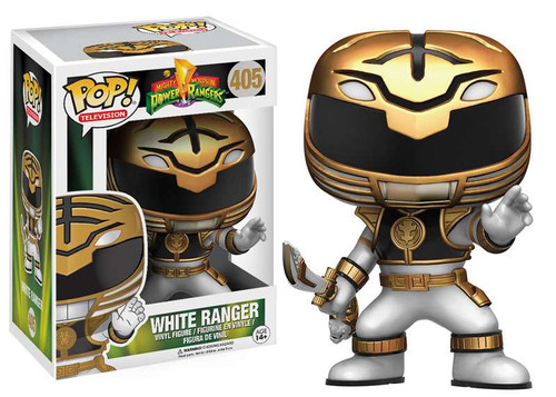 Funko Power Rangers POP! TV White Ranger Vinyl Figure #405 [Action Pose]