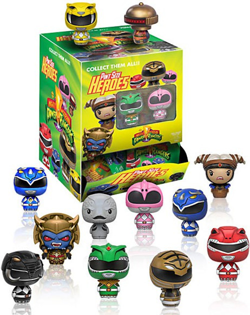 Funko Pint Size Heroes Mighty Morphin Power Rangers Mystery Box [24 Packs]