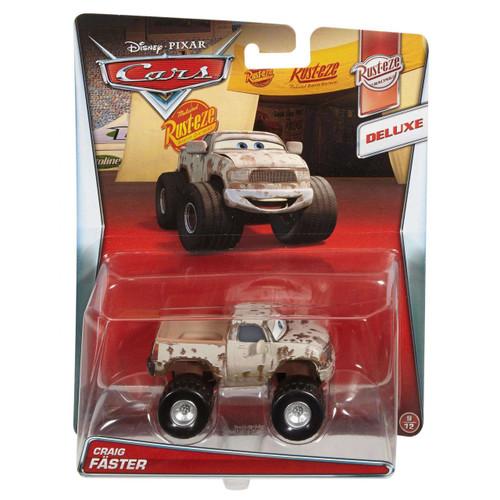 Disney / Pixar Cars Rust-Eze Racing Craig Faster Diecast Car #9/12 [Deluxe]