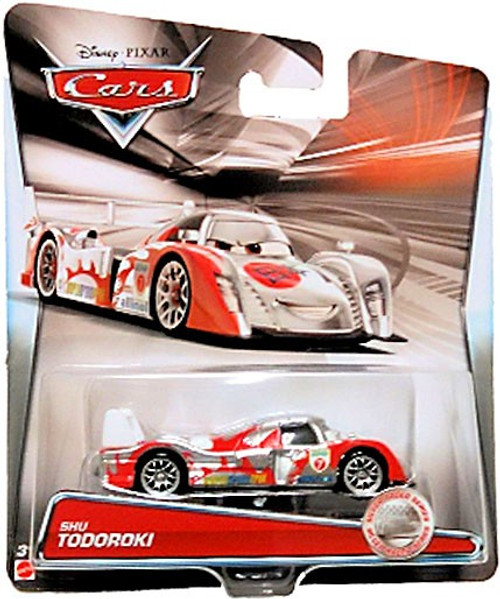 Disney / Pixar Cars Silver Racer Series Shu Todoroki Diecast Car