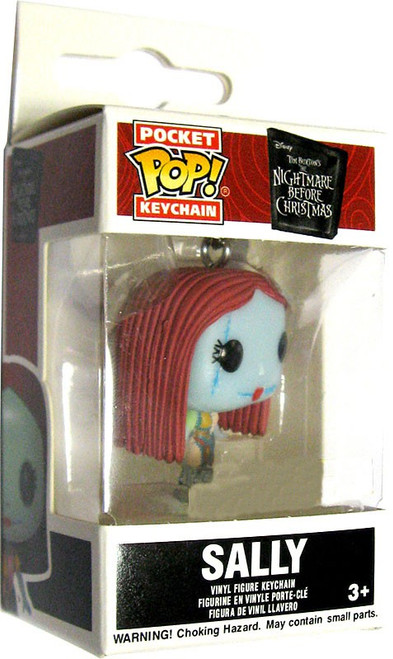 Funko Nightmare Before Christmas Pocket POP! Movies Sally Exclusive Keychain [Glows-in-the-Dark]