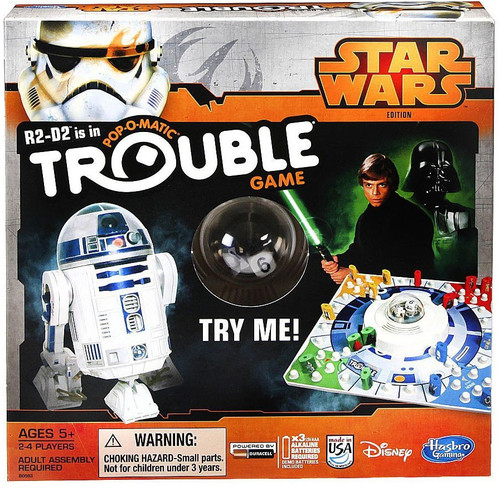Star Wars Trouble Board Game