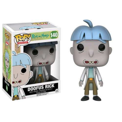Funko Rick & Morty POP! Animation Doofus Rick Exclusive Vinyl Figure #140