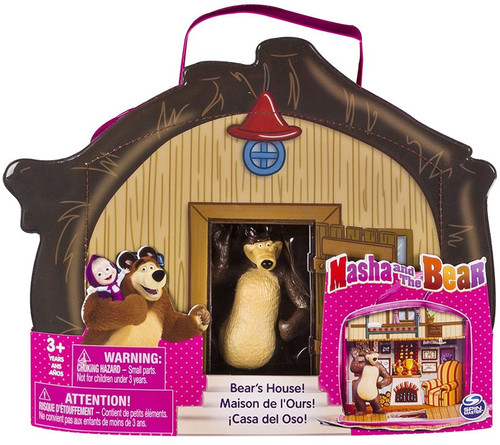 Masha and the Bear Bear's House 3-Inch Vinyl Bag & Figure