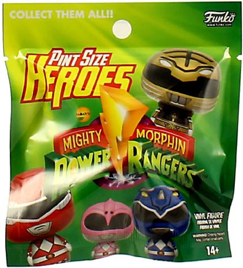 Funko Pint Size Heroes Mighty Morphin Power Rangers Mystery Pack