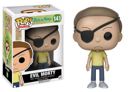 Funko Rick & Morty POP! Animation Evil Morty Exclusive Vinyl Figure #141