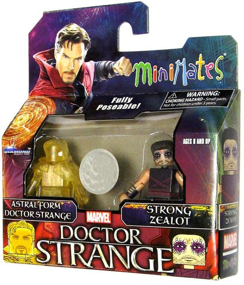 Marvel Minimates Astral Form Doctor Strange & Stron Sealot 2-Inch Minifigure 2-Pack
