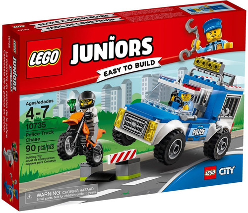 LEGO Juniors Police Truck Chase Set #10735
