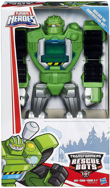 "Transformers Playskool Heroes Rescue Bots Boulder the Construction-Bot 11"" Action Figure"
