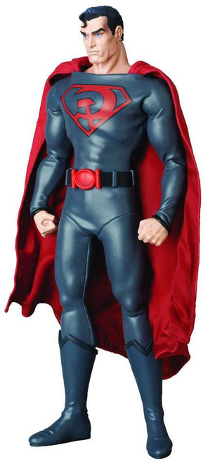 DC Real Action Hero RAH Red Son Superman Collectible Figure