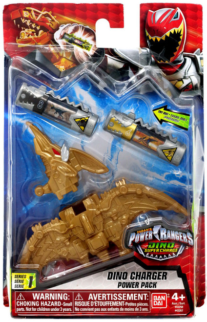 Power Rangers Dino Super Charge Gold Dino Charger Power Pack