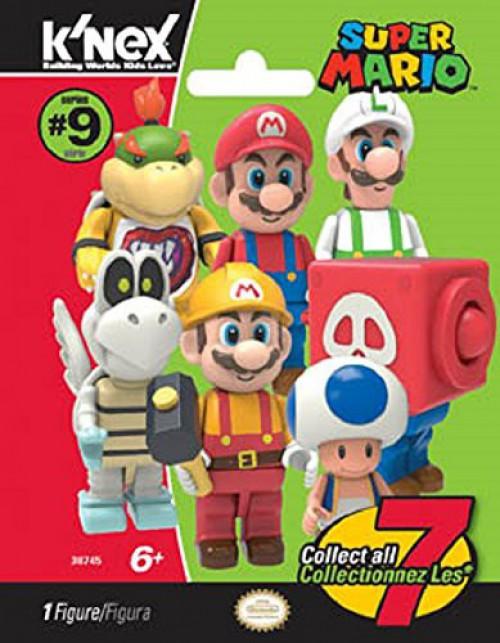 K'NEX Super Mario Series 9 Mystery Pack [1 RANDOM Figure]
