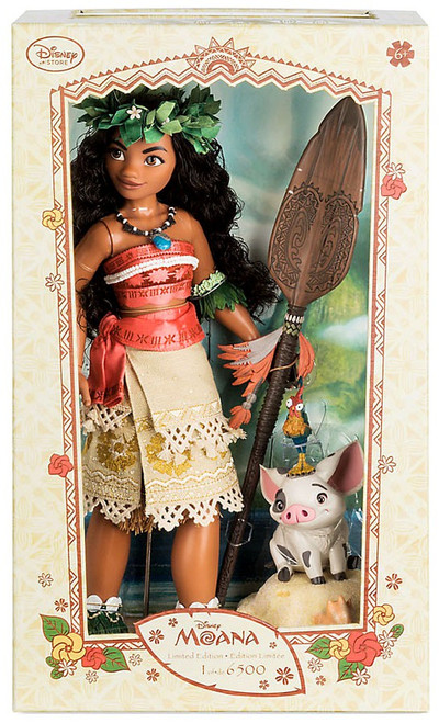 Disney Moana Moana with Pua Exclusive 17-Inch Doll [Limited Edition of 6500]
