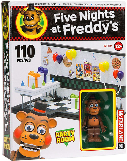 McFarlane Toys Five Nights at Freddy's Party Room Construction Set [Toy Freddy]