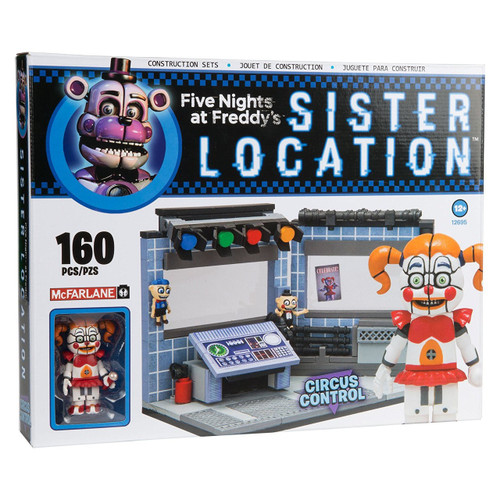 McFarlane Toys Five Nights at Freddy's Sister Location Circus Control Construction Set [Circus Baby]