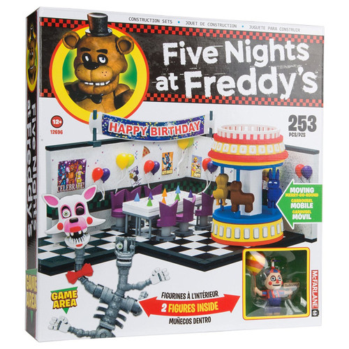 McFarlane Toys Five Nights at Freddy's Game Area Construction Set [Balloon Boy & Mangle]