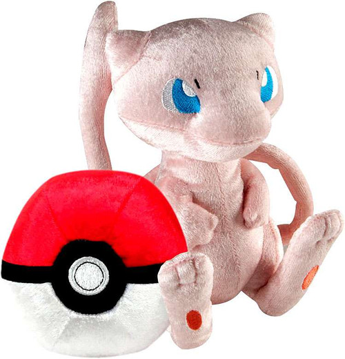 Pokemon 20th Anniversary Mew & Pokeball Exclusive 8-Inch Plush