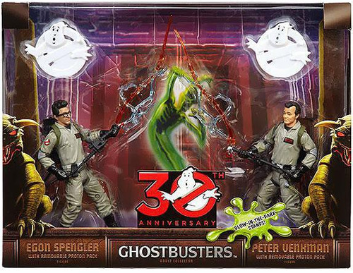 Ghostbusters 30th Annniversary Peter Venkman & Egon Spengler Exclusive Action Figure 2-Pack