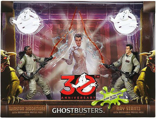 Ghostbusters 30th Annniversary Ray Stantz & Winston Zeddemore Exclusive Action Figure 2-Pack