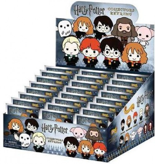3D Figural Keyring Harry Potter Series 2 Mystery Box [24 Packs]