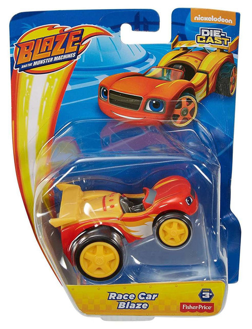 Fisher Price Blaze & the Monster Machines Race Car Blaze Diecast Car
